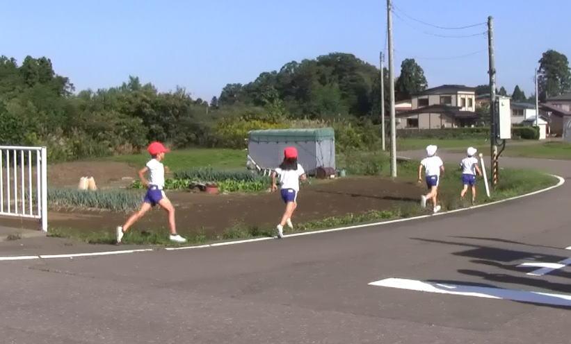 次女のマラソン大会